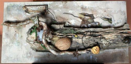 Création sur Toile N°6 60 cm X 30 cm