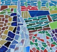 stage d'initiation à la mosaïque , Chantal BAROCHE TAL MOSAÏQUE