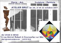 Actualité de pierre-antoine maignier Pierre-Ant. sculpture peinture Atelier brut