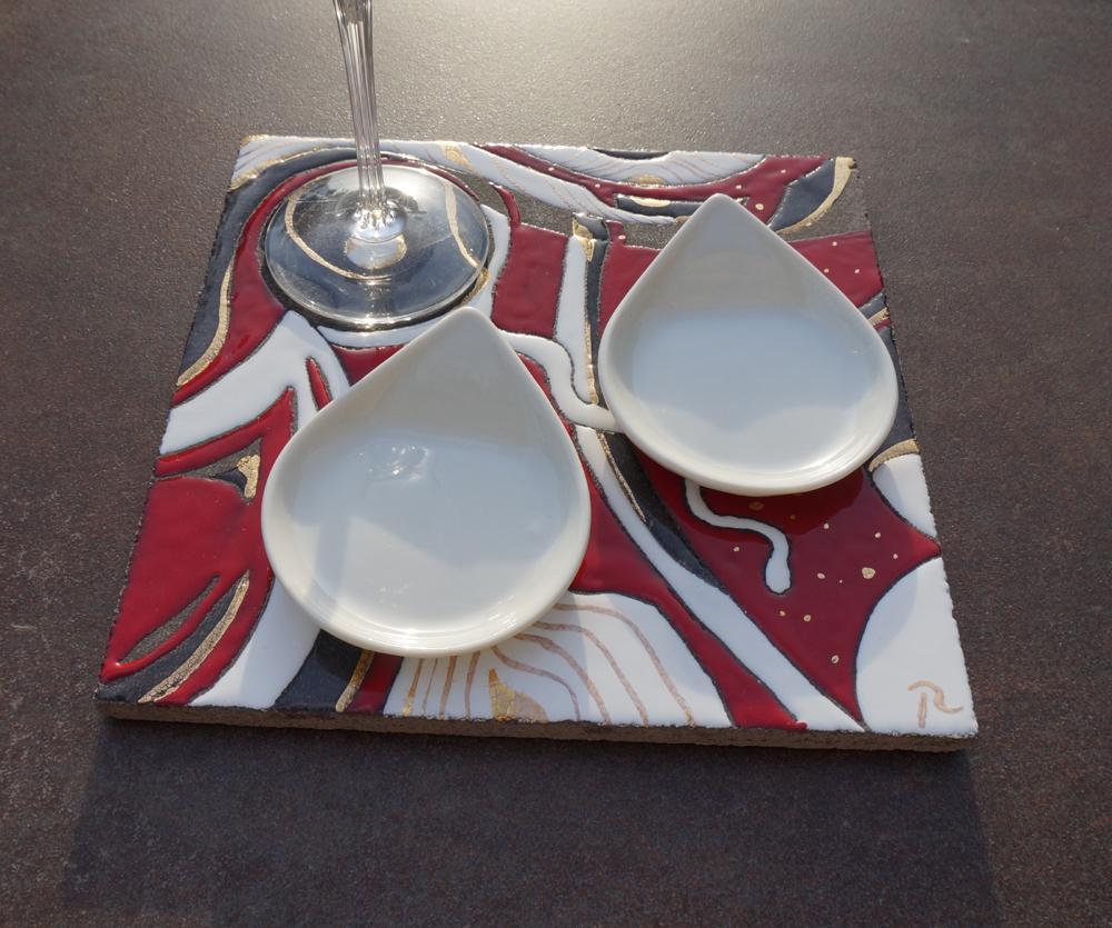cr ation de rose desmaisons p pite de lave 24374. Black Bedroom Furniture Sets. Home Design Ideas