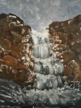 acrylique ma cascade