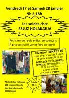 Actualité de Brigitte Ryckenbusch Eskuz Holakatua Les soldes!!