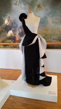 Cr�ation Robe de soir�e �  PRESTIGE � au Mus�e des Meilleurs  Ouvriers  de France � Bourges