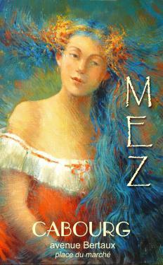 affiche - toison bleue MEZ Cabourg