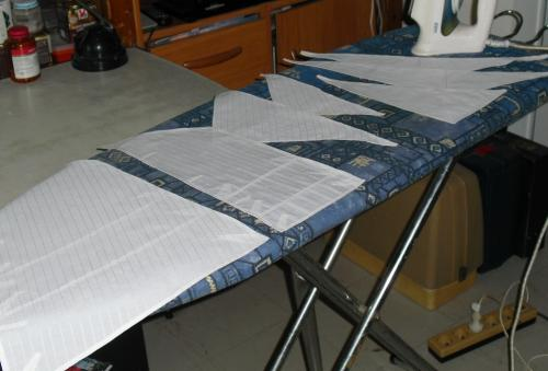 Fabrication des voiles