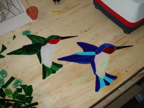 Oiseaux mouches