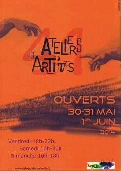 Actualité de NICOLE BOURGAIT THIERRY LE SET DES FLEURS LOIR ET CHER ATELIERS D'ARTISTES OUVERTS