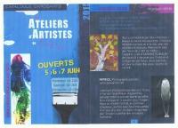 LES ATELIERS D'ARTISTES DU LOIR & CHER OUVRENT LEURS PORTES , NICOLE BOURGAIT CONCEPT VEGETAL
