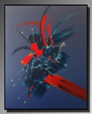 MASQUE COLORE Taille : 65X80 Peinture abstraite   Acrylique au couteau/pinceau Toile sur ch�ssis bois Cotation Drouot Site officiel : http://www.mapeinturesurtoile.com Prix : me contacter