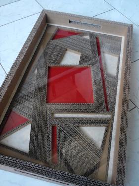 plateau de décoration de table mais permet aussi à l'utilisation.
