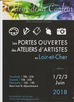 Actualité de RICHARD Gabriel PORTES OUVERTES DES ATELIERS D'ARTISTES EN LOIR ET CHER