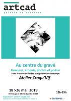 Actualité de Jean-Pierre GUAY Atelier d'estampe Croqu'Vif ® PETITE RÉTROSPECTIVE DE 30 ANS DE GRAVURE DE J.P. GUAY ATELIER CROQU-VIF