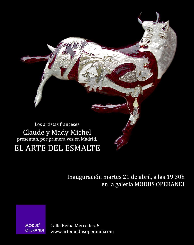 Actualité de Claude & Mady MICHEL Emaillerie El Arte del Esmalte