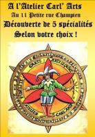 Actualité de catherine carlier atelier carl arts L 'Arlequin présente ses ATELIERS: