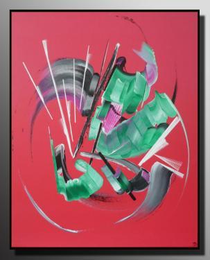 LA BULLE DE MYA Taille : 46X38 Peinture abstraite   Acrylique au couteau/pinceau Toile sur ch�ssis bois Cotation Drouot Site officiel : http://www.mapeinturesurtoile.com Prix : me contacter