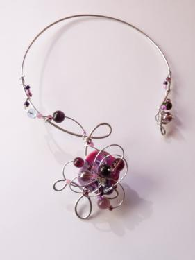 Collier zarzuela simple Violet
