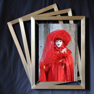 Cadre photo triple, pour photo 40 x 60 Réf.106 Sur mesure, toutes dimensions pour photo ou toile.