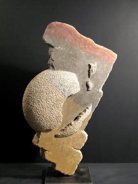 Morceaux choisis pierre de Buxy H:50 cm