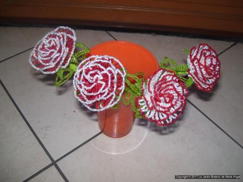 Grosse rose aux choix Vendu a l'unité Possible de réaliser selon vos couleurs