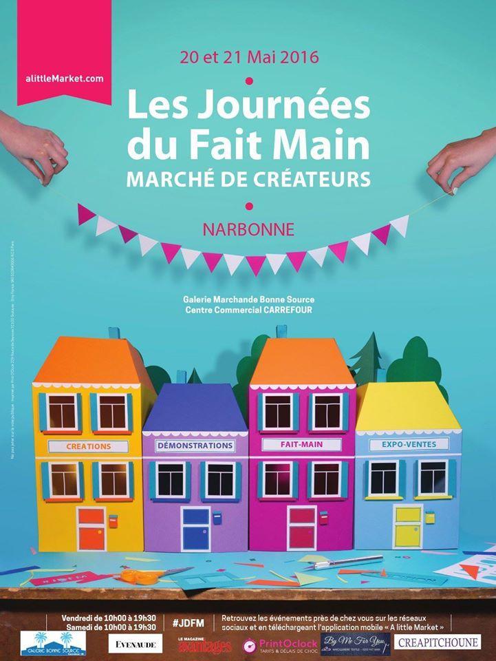 Actualité de NATHALIE COUTENAY NATHALYNE Les Journées du Fait Main à Narbonne (11)