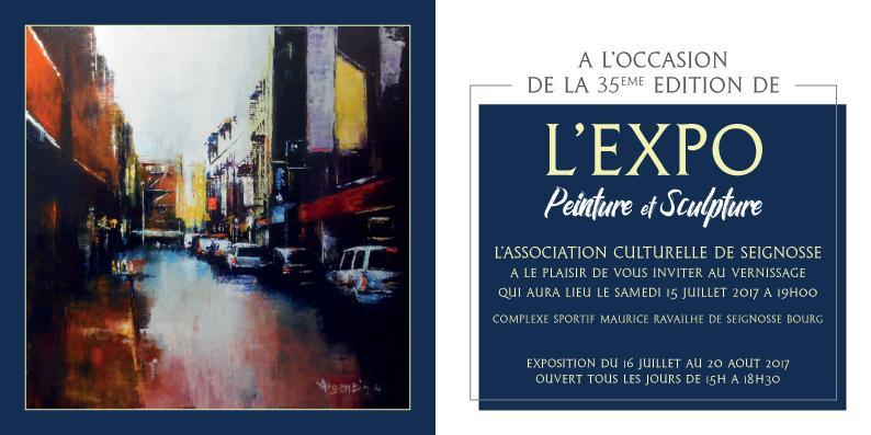 Actualité de francine D'oliveira Rezende artiste peintre Exposition à Seignosse.