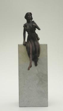 Ariane Assemblage Pierre et bronze
