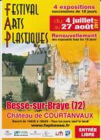 FESTIVAL D'ART PLASTIQUE DE BESSE SUR BRAYE , RICHARD Gabriel