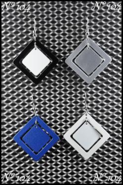 Bijoux aluminium N°105 Plusieurs couleurs disponibles Personnalisable.