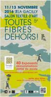 SALON TOUTES FIBRES DEHORS - LA GACILLY (56) ,   ECLAT D ETOFFES - Sylvie GERARD TRIGODET