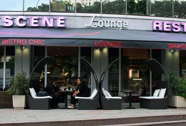 Actualité de BELFODIL Martine Exposition au Lounge LA SCENE de Martine BELFODIL