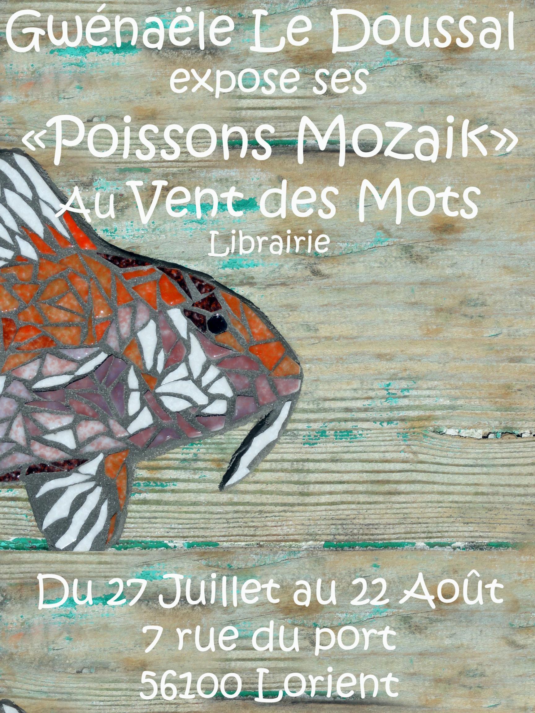 Actualité de gwenaele le doussal passionmozaik Exposition Mosaïque