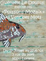 Exposition Mosaïque , gwenaele le doussal passionmozaik