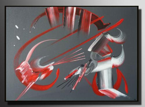 ENTRE DEUX MONDES Taille : 46X33 Peinture abstraite   Acrylique au couteau/pinceau Toile sur ch�ssis bois Cotation Drouot Site officiel : http://www.mapeinturesurtoile.com Prix : me contacter