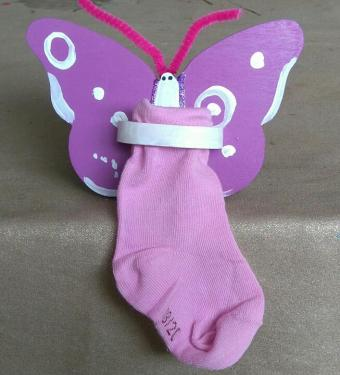 Tirelire papillon