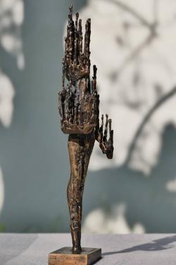 Wax Man - Bronze - Eléna Di Giovanni - 2015