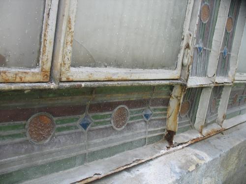 constat avant la restauration à effectuer sur une véranda