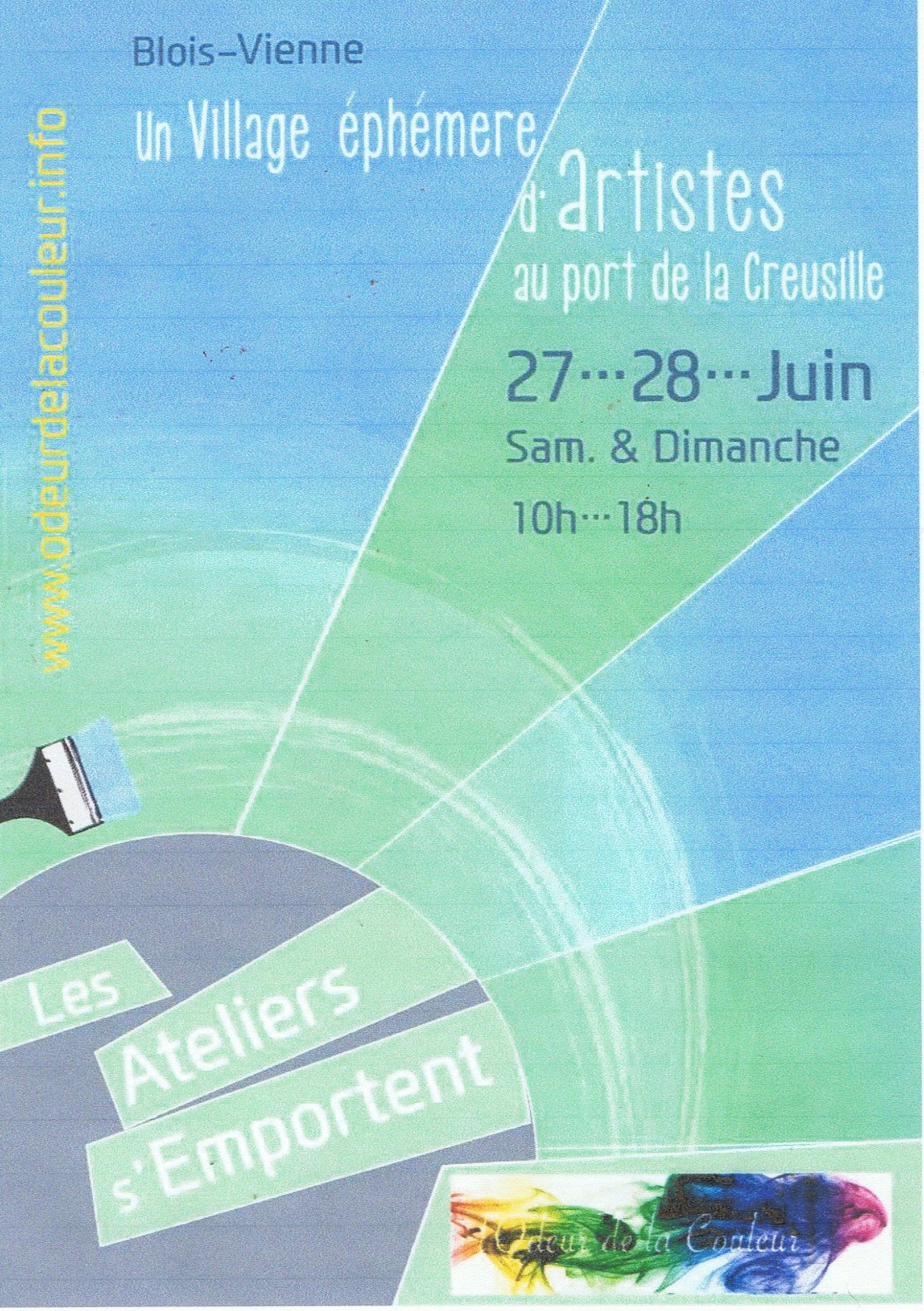 Actualité de NICOLE BOURGAIT THIERRY LE SET DES FLEURS BLOIS. EXPOSITION PORT DE LA CREUSILLE