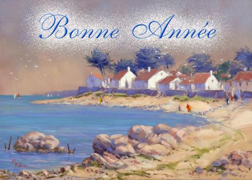 carte MEZ - Bonne année Bretagne