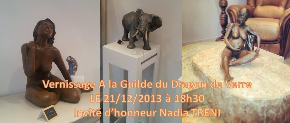 Actualité de ariane chaumeil Ar'Bords Essences - A la Guilde du Dragon de Verre 3e Vernissage A la Guilde Du Dragon de Verre