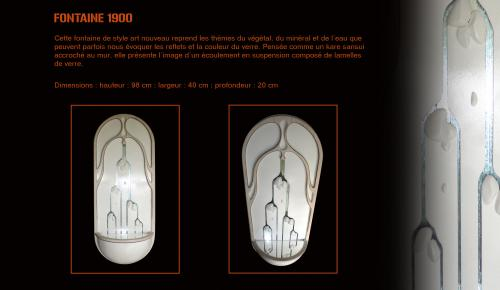 dimensions : 98/40/20(prof) cm  fournie avec support d'accrochage