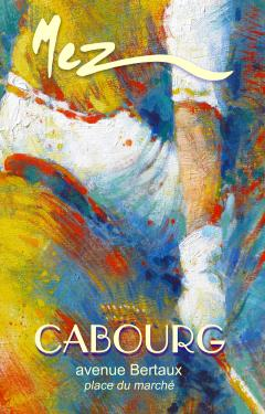 affiche - polo détail 2 MEZ Cabourg