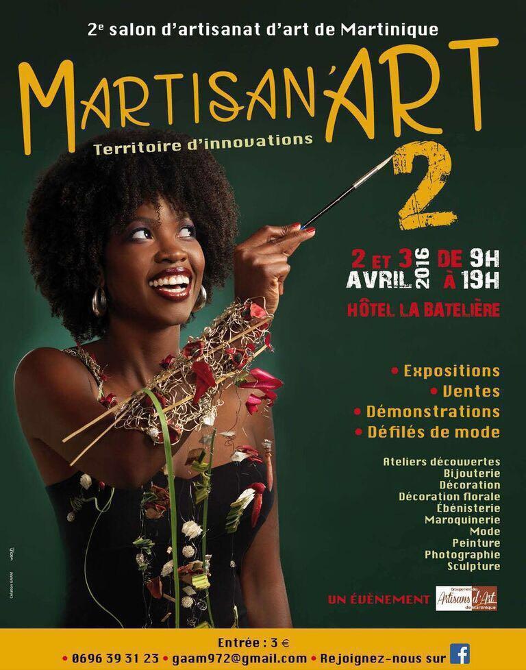 Actualité de Sylviane  Enéléda artisant d'art MARTISAN'ART Salon des Artisans d'Art de MARTINIQUE 2016