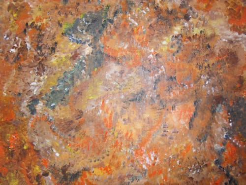 Cogitation Noctune (Sept 2011)(41X33) (EX:signe astral chinois = le tigre)