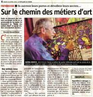 LA ROUTE DES MÉTIERS D'ART , VITRAUX GUINOT