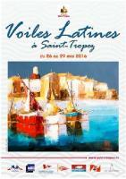 Voiles Latines de Saint-Tropez du 26 au 29 Mai, , Bernard FONTAINE FB-maquettes