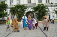 Sortie Fort de France 'Atelier Masques Martinique , Sylviane  Enéléda artisant d'art