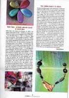 Actualité de Cathy de Moussac Baba Figue Créations Parution dans France Antilles Magazine