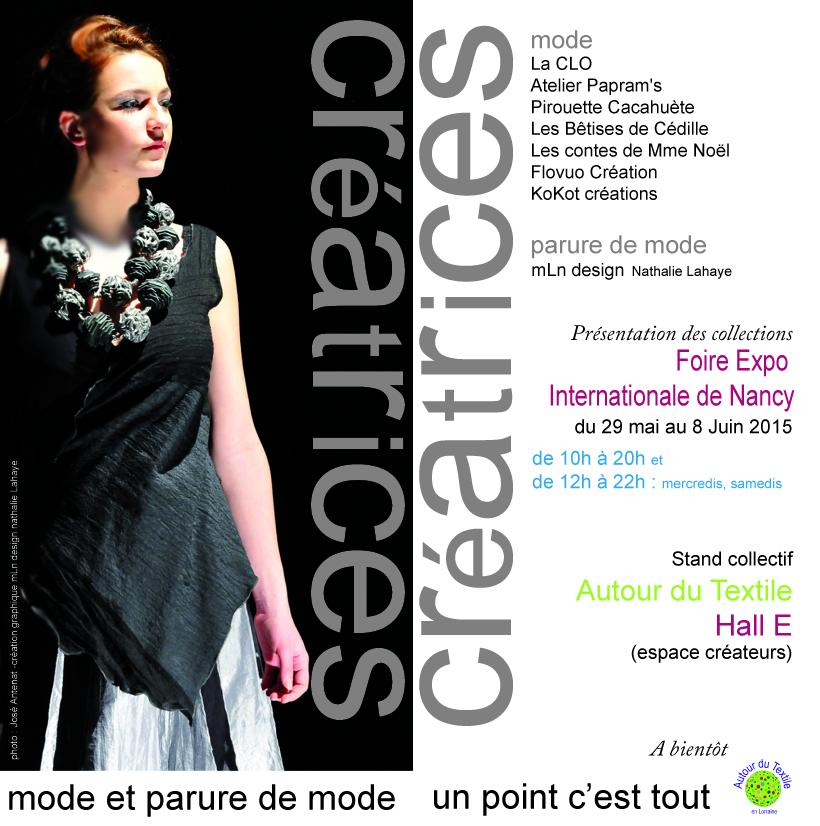 Actualit� de Nathalie Lahaye- Mangold Nathalie Lahaye Cr�ation Foire expo Nancy 2015