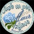 Atomania - fleur bleue