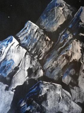 montagnes acrylique